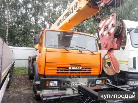 Кран автомобильный КС-45717К-1 б/у ( 2013 г. в, 9 092 км, 1 400 м. ч. )