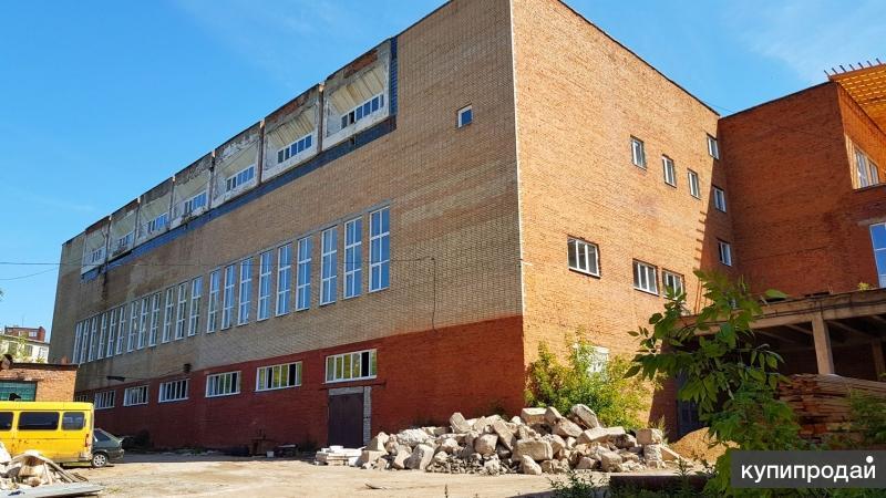 Производственный корпус 20 тыс кв.м в центре Иванова