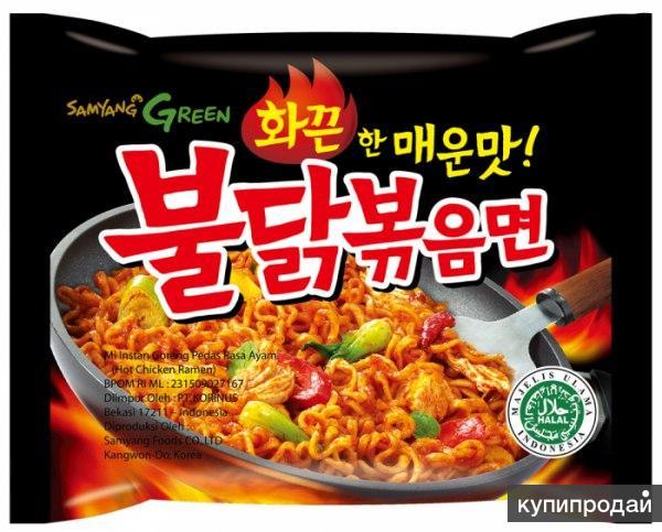 Корейская лапша быстрого приготовления SAMYANG Hot Chicken