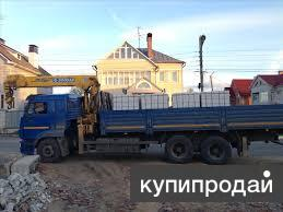 Услуги манипулятора 8-10 тонн Камаз