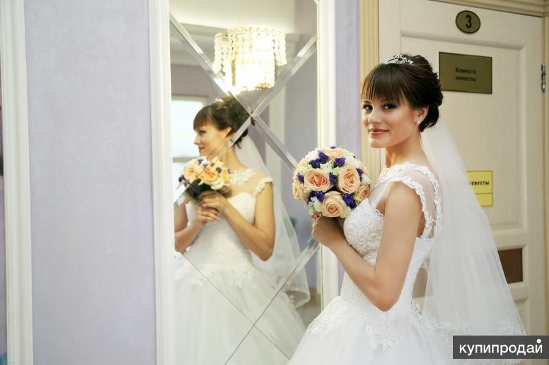 Срочно продам свадебное платье в отличном состоянии