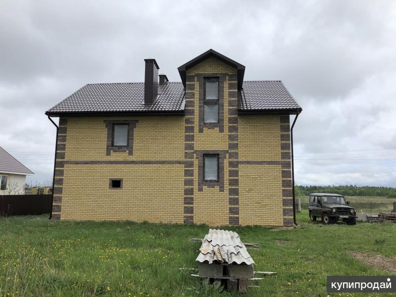 Земельный участокс строящимся 2-ух этажным жилым домом