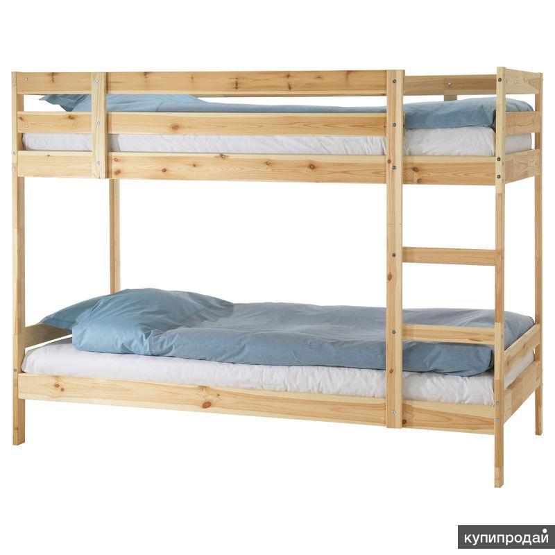 Мидал Каркас 2-ярусной кровати, сосна