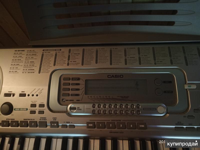 Синтезатор  CASIO WK 3300