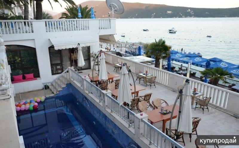 Продается отель в Черногории