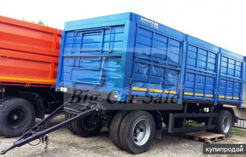Бортовой прицеп зерновоз СЗАП-8357СХ-0000010