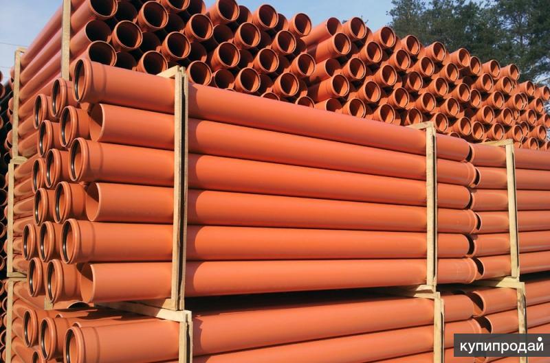 Трубы для наружной и внутренней канализации