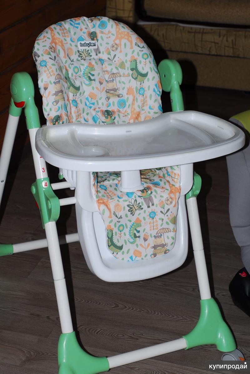 детское кресла и столик для кормления