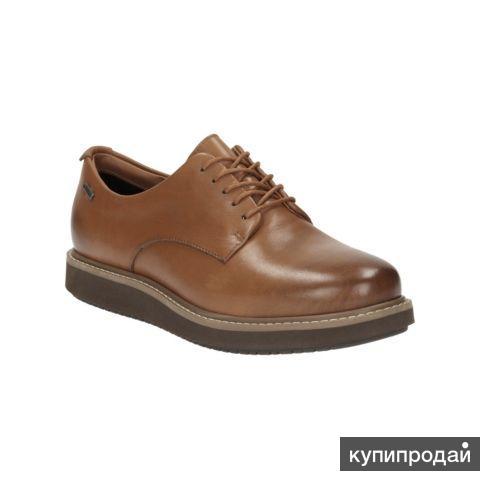 Новые Clarks (Англия) Оригинал! Натур. кожа, 37 р-ра ботинки Кларкс