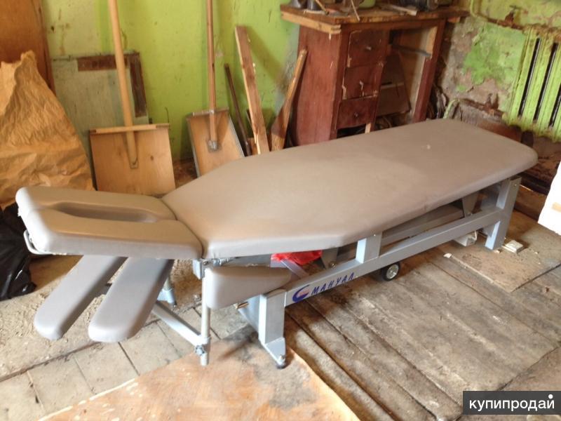 массажный стол с электроподъёмником