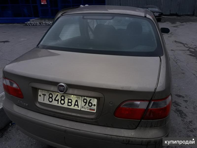 Fiat Albea, 2011 после дтп