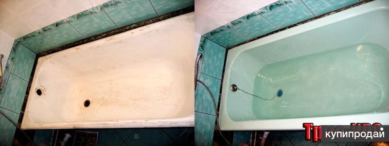 Реставрация ванн в Ленинск-Кузнецке