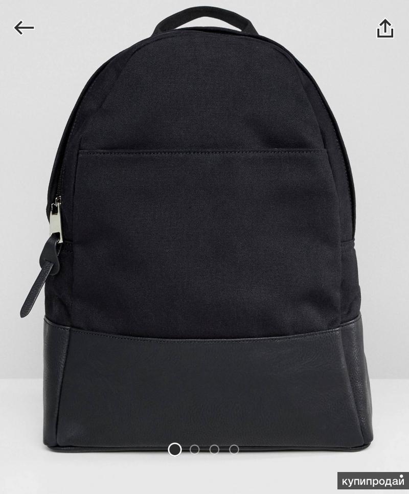 Рюкзак чёрный новый
