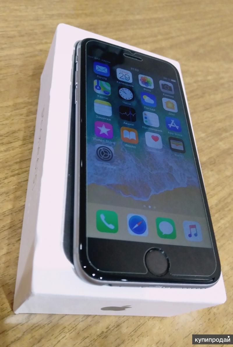 iPhone 6s / 64 gb / Space Gray (Серый Космос)
