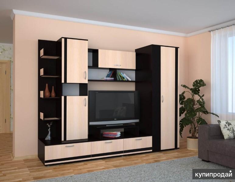 Готовые кухни, шкафы-купе, гостиные, детские мягкая мебель