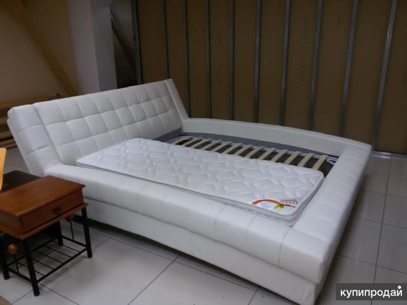 Продаётся кровать Орматек (натуральная кожа)