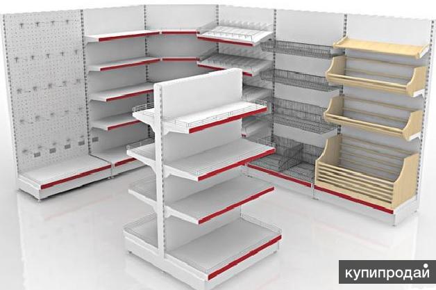 Оборудование для магазинов и торговых площадей.