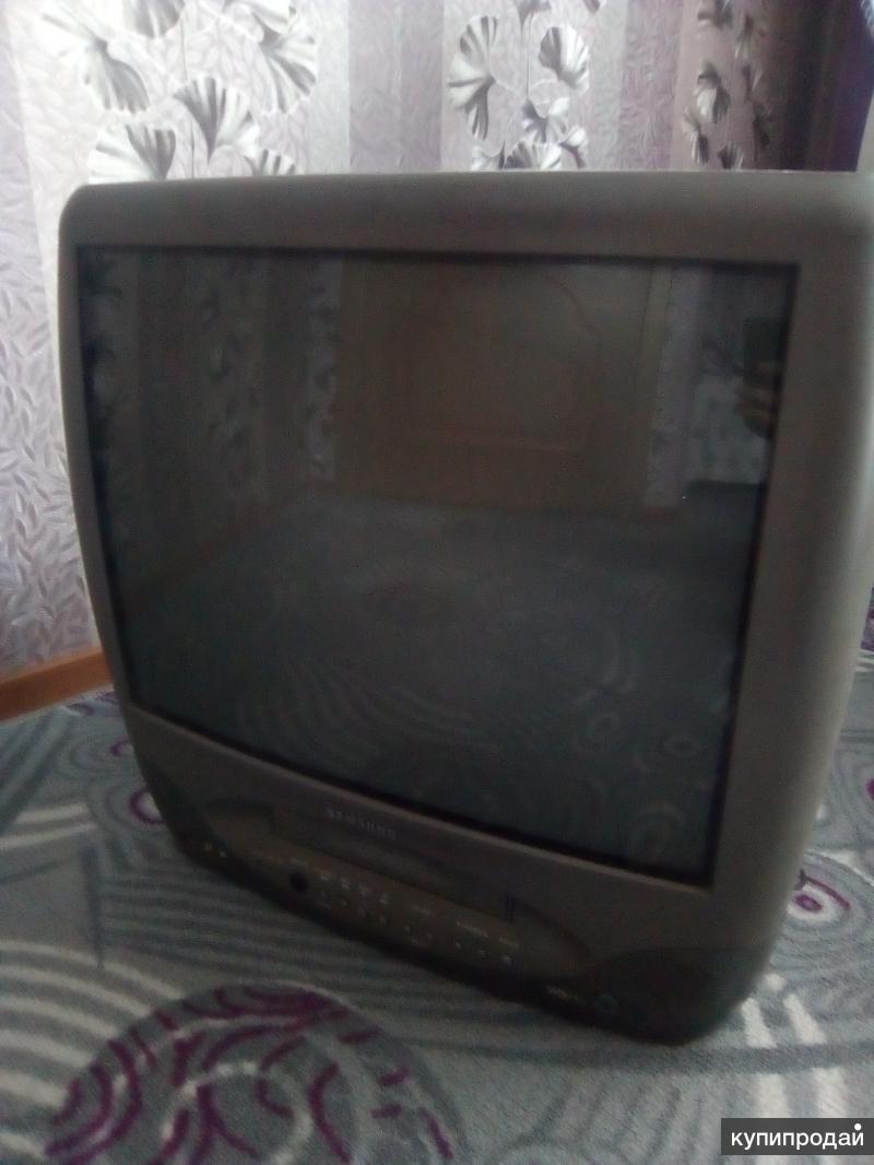 Продам телевизор видео двойку.