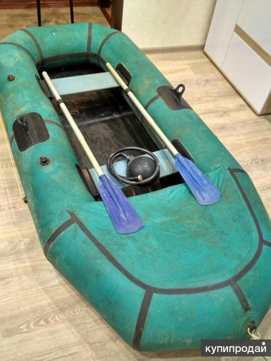 Продам лодку двухместную
