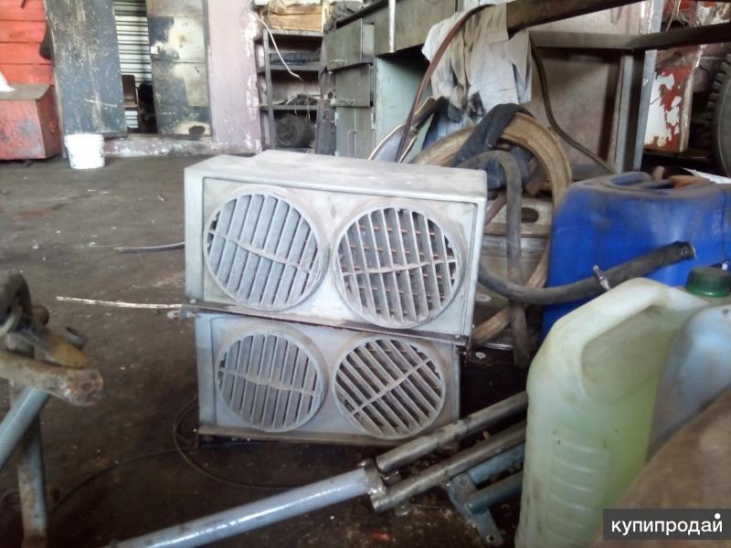 Доп отопитель в салон Радиатор печки 24 вольт