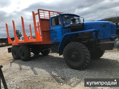 Сортиментовоз на шасси Урал-4320