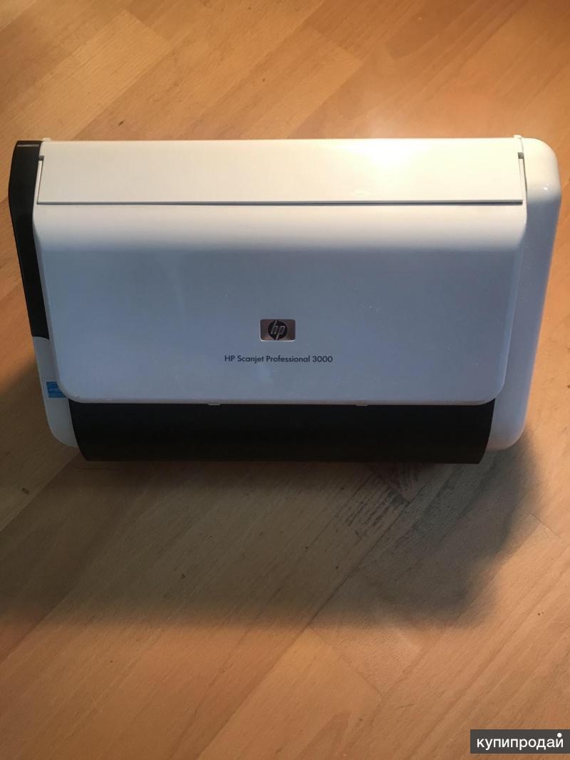 Сканер HP scanjet professional 3000