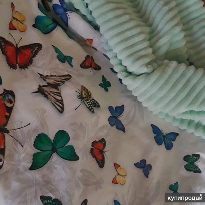 Комплект плед-одеяло и 2 подушки