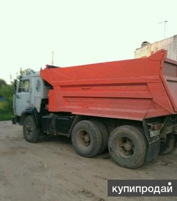 Камаз-самосвал, 13т(Кирпич, щебень, песок, грунт, мусор) Йошкар-Ола