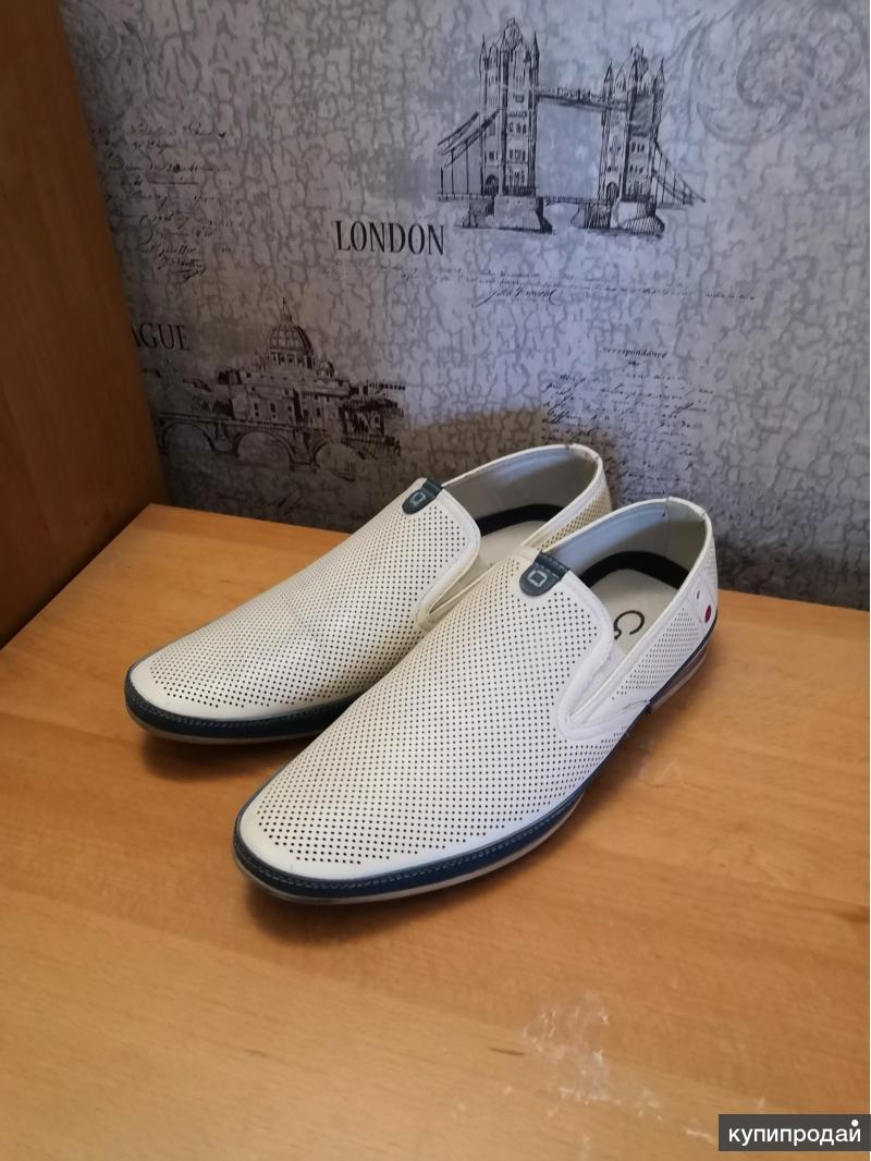 Туфли белые 41 р.