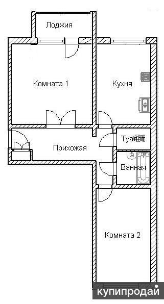 2-к квартира Артемовская 136 продам или обменяю