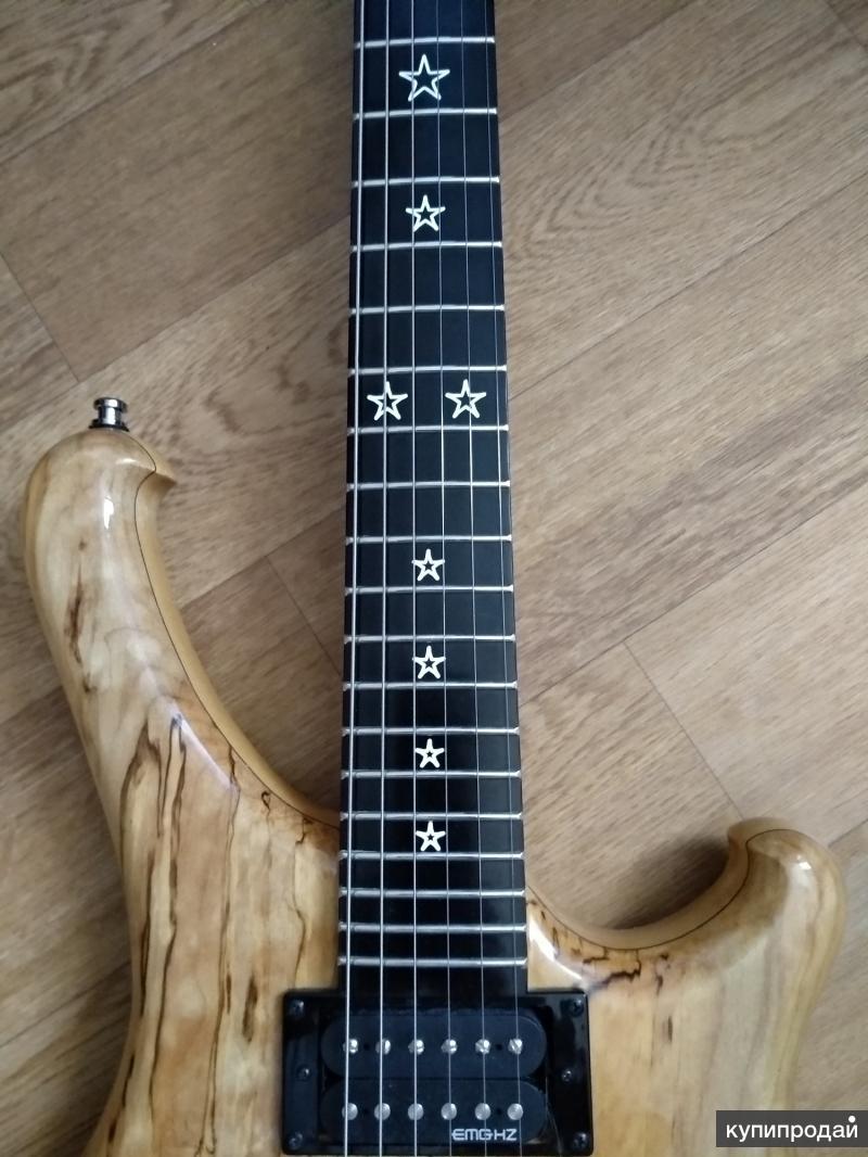 Электро-гитара JET UEG-2007 Spalted maple (Корея)