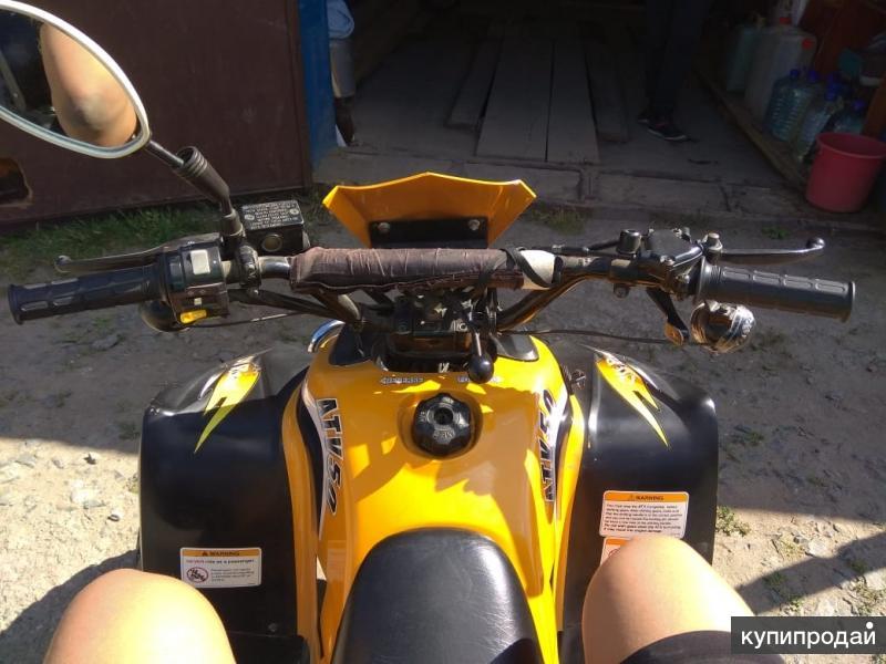Квадроциклист отличном состоянии:)
