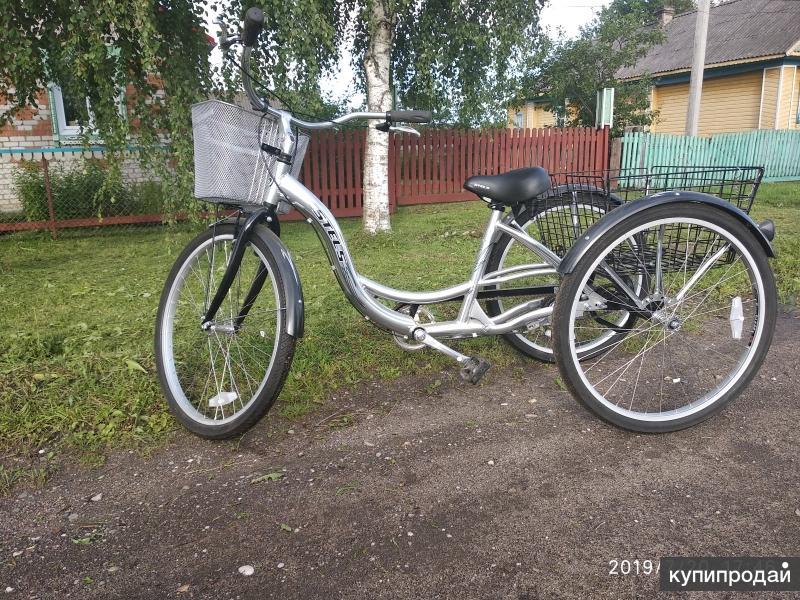 """Взрослый трёхколёсный велосипед """"stels"""""""