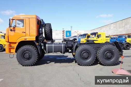 Седельный тягач Камаз-65221 6х6 20 тонн кабина со спальным