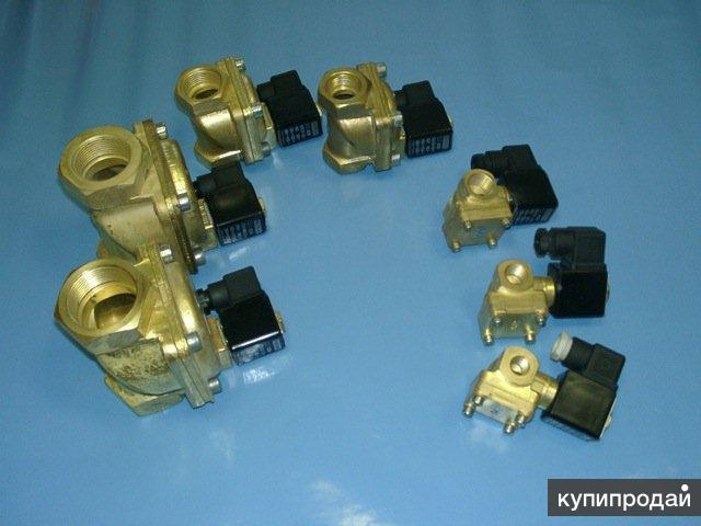 Электромагнитные клапана (вентили) НЗ, 220V, 24V