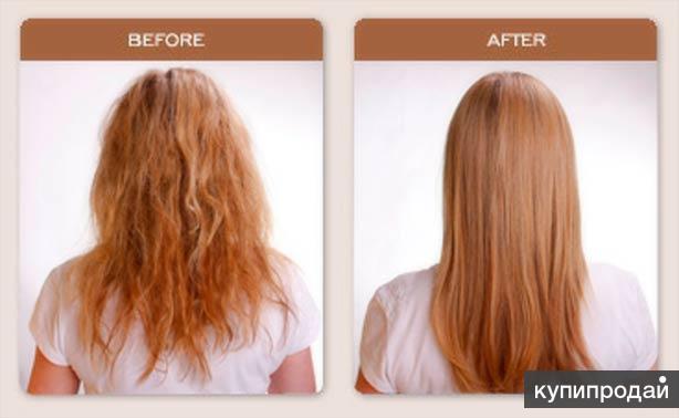 Кератиновое выпрямление-восстановление волос INOAR