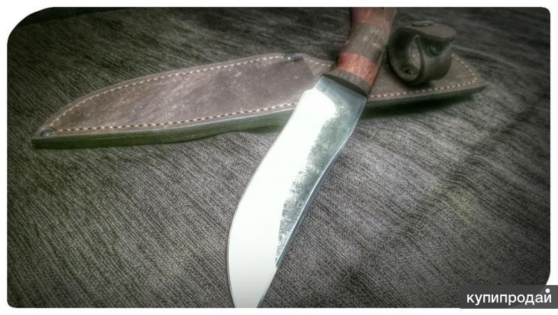 Ножи из кованой нержавеющей и дамасской стали