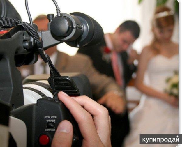 Видеосъемка на свадьбу, фотограф