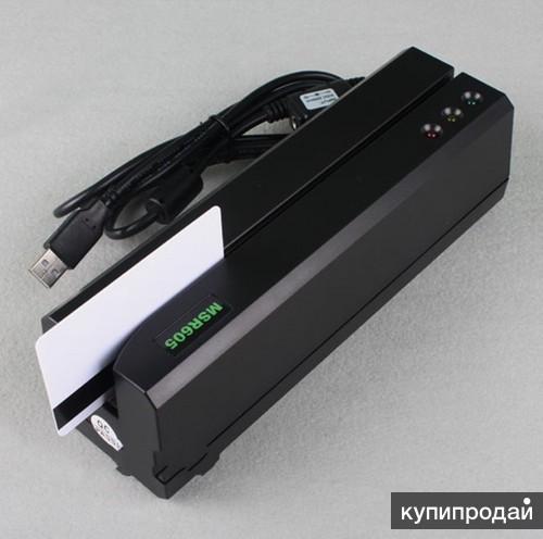 Энкодер магнитных карт MSR605 - аналог MSR206 / MSR606 / MSR609