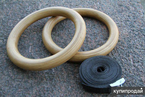 Деревянные гимнастические кольца Record