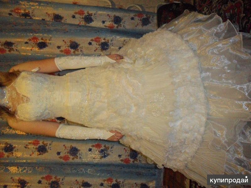 Продаётся классное свадебное платье