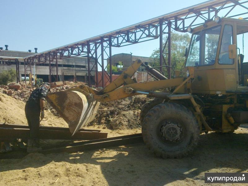 Снос строений и зданий, демонтаж фундамента и сооружений