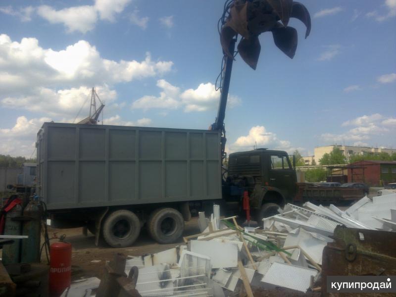 Погрузка, вывоз и утилизация мусора
