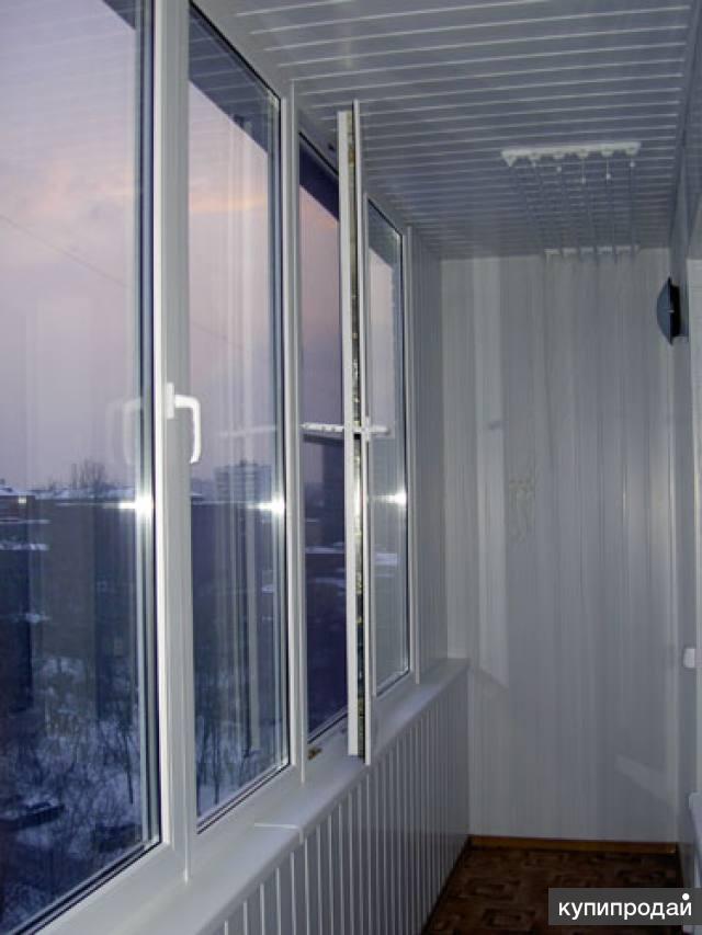 Остекление лоджий, остекление балконов в хабаровске. пластик.