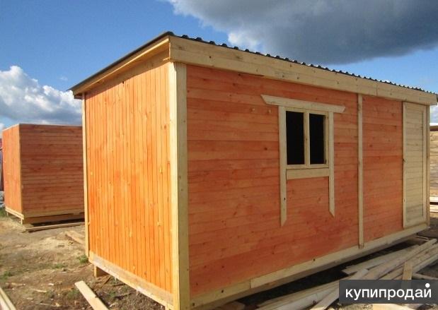Бытовка-домик «Уютный сад 4»