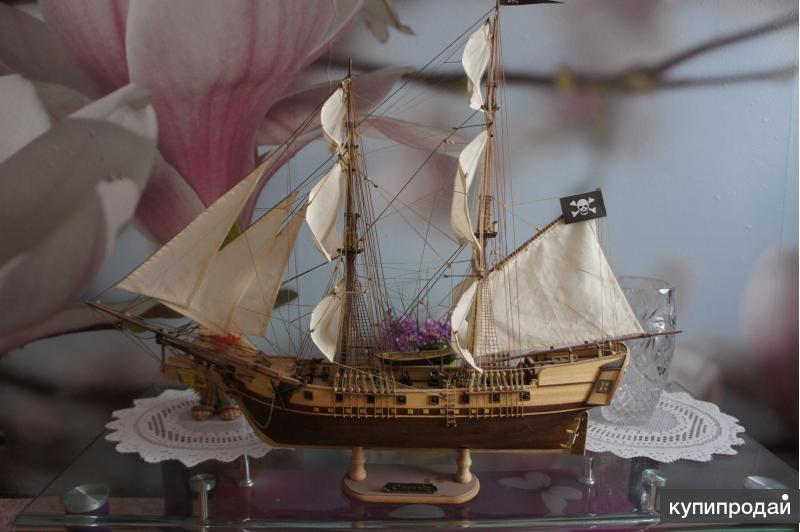 Пиратская Бригантина Corsair (ручная работа)