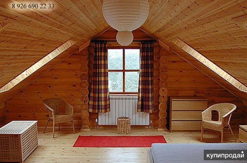 Построить мансарду в дачном доме