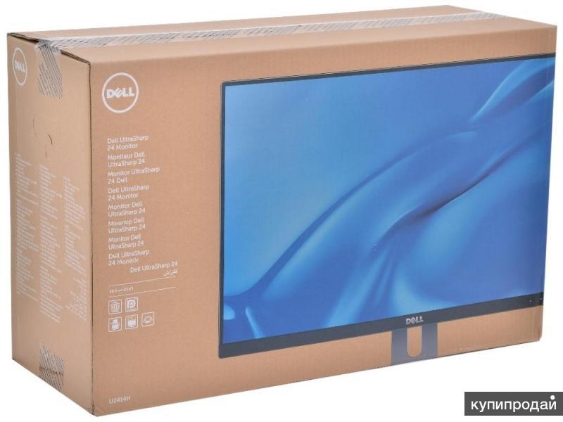 Новый ЖК монитор Dell Ultrasharp U2414H