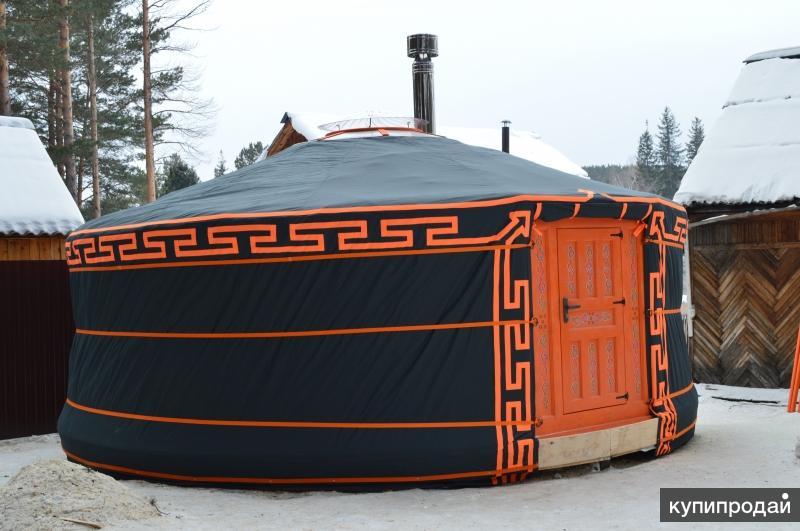 Юрта - домик и для вас, и для гостей. Экологичный и необычный
