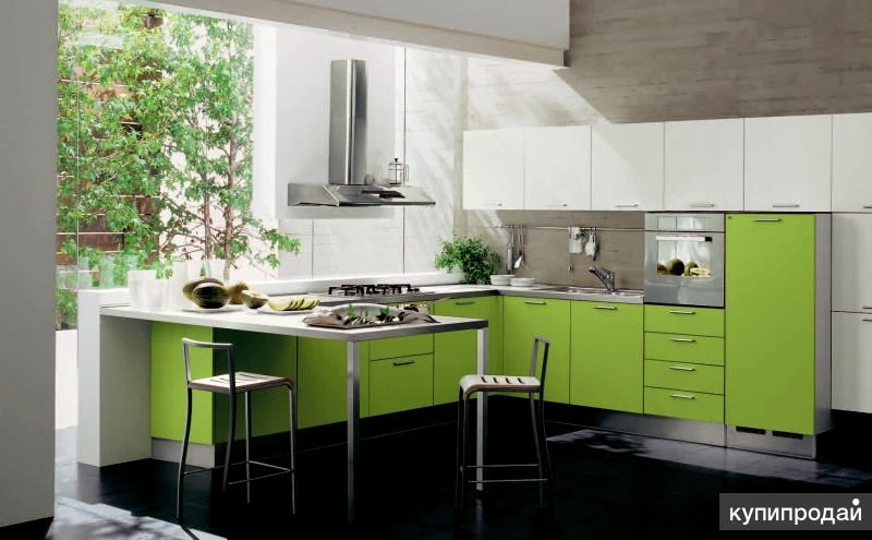 Салатная кухня фото